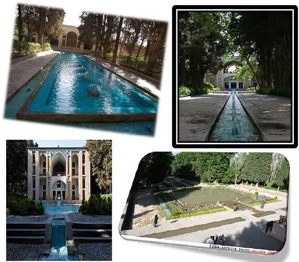 پاورپوینت بررسی باغ های ایرانی