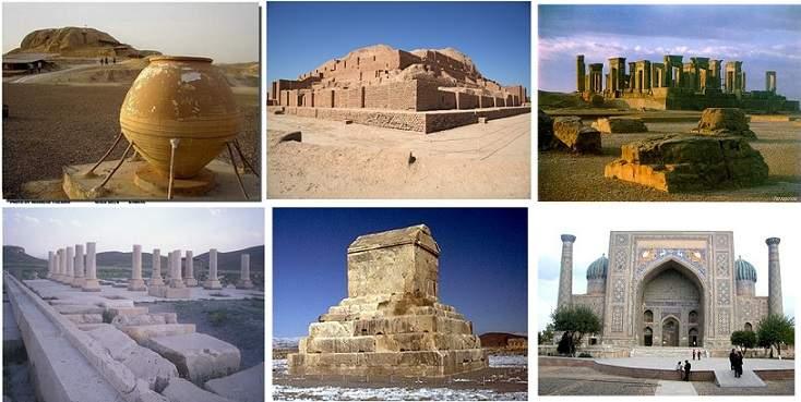 پاورپوینت بررسی تاریخچه معماری ایران