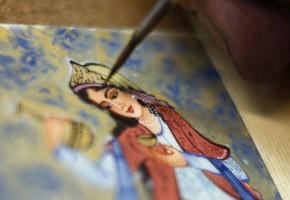 تحقیق تاثیر صورخیال ادبی بر نگارگری مکتب شیراز